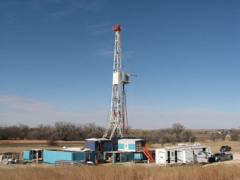 drilling-hubert-radke-1-6-southwind-rig-1